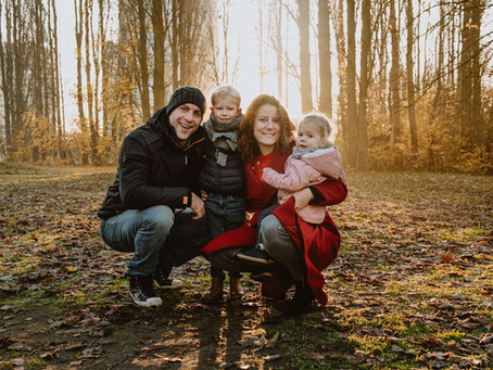 Iris, Jeroen & kids