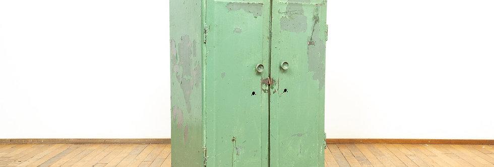 vintage industrieel industriële ladekast lade kast metaal antiek fabriek werkplaats kast