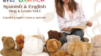 Spanish & English Sing & Learn 1