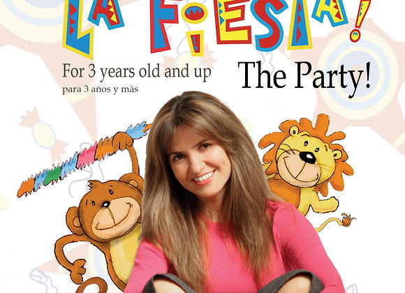 Spanish and English La Fiesta - The Party DVD