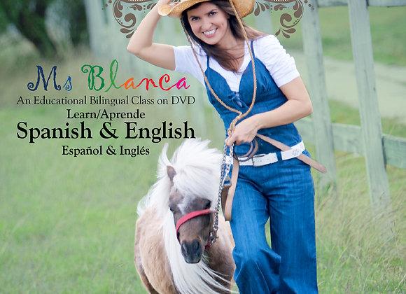 Spanish and English La Granja - The Farm DVD