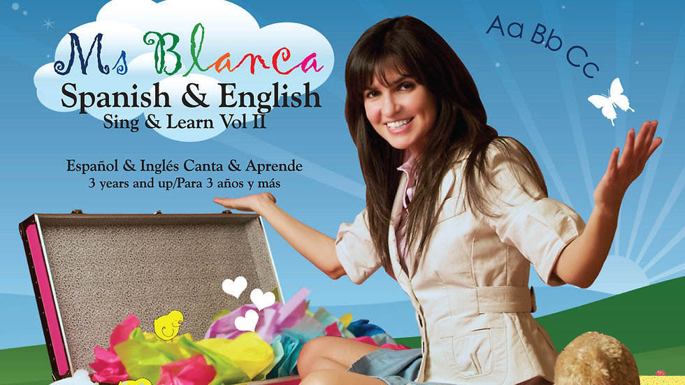 Spanish & English Sing & Learn 2