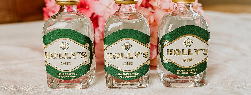 Holly's Mini Gin Gift Box (Set of 3)