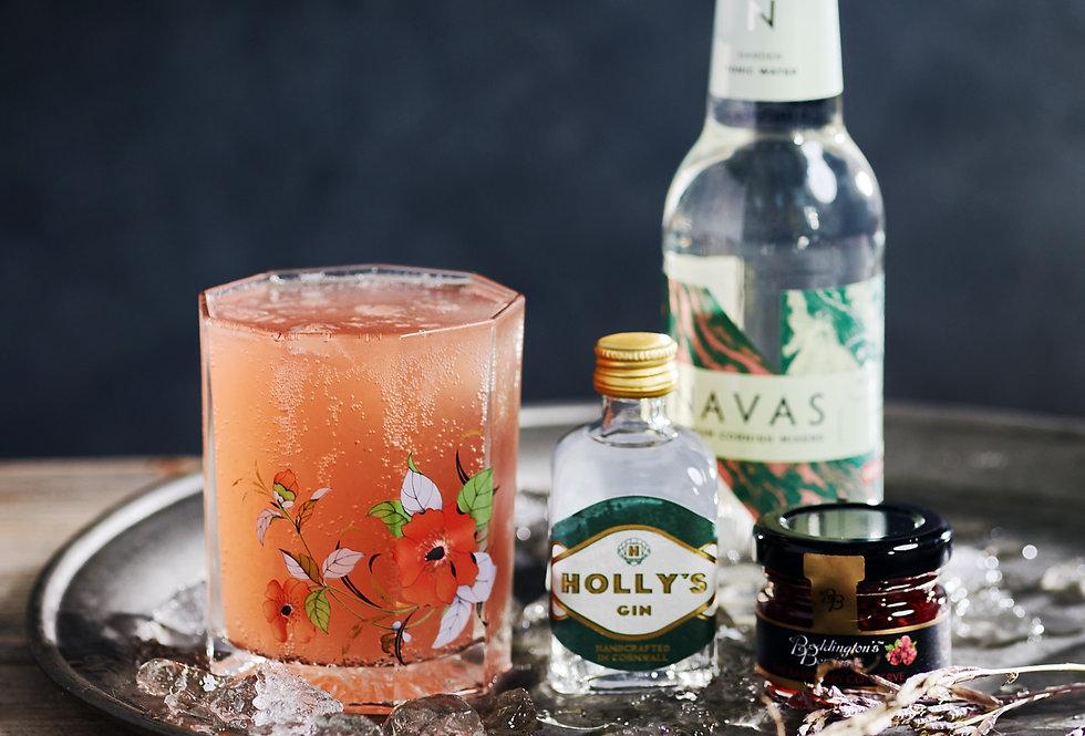 Holly's Raspberry Garden Cocktail Gift Box