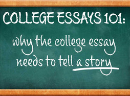 Every essay needs a story