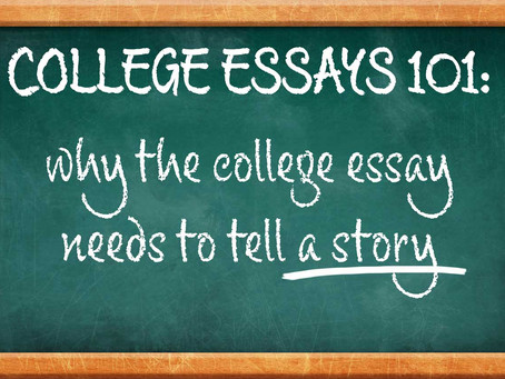 Every essay needs a story