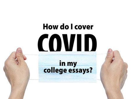 How should I write about COVID in my college essay?