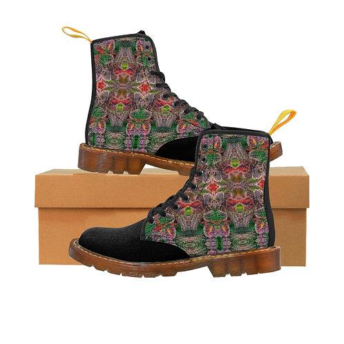 Holiday Nug Canvas Boots - Black Toe
