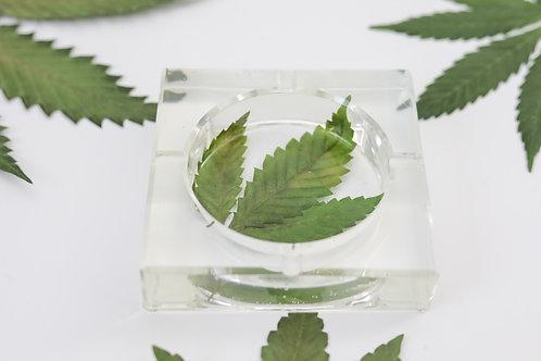 Square Leaf Ashtray