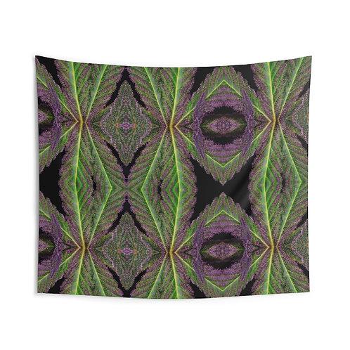 Macro Leaf Tapestry