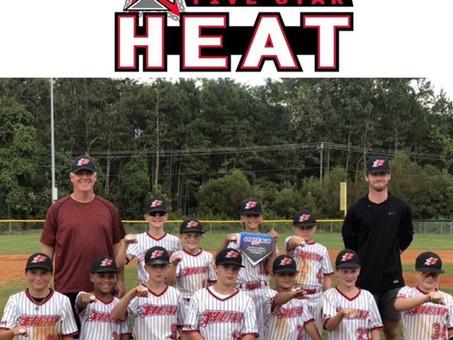5 Star Heat 11U-Gardiner takes championship!!
