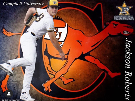 Jackson Roberts signs to Campbell University