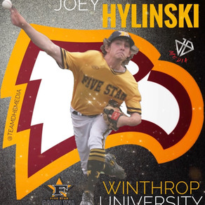 Congratulations to Joey Hylinksi on his recent commitment to Winthrop University