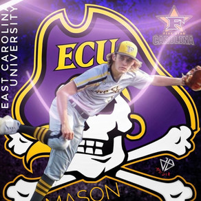 Congratulations to Mason Smith on his recent Commitment to East Carolina University