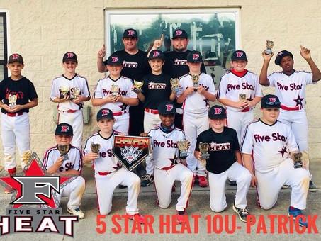 5 Star Heat 10u- Patrick Champions