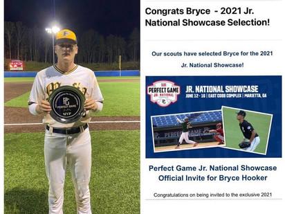 Bryce Hooker named 2021 Jr. National Showcase