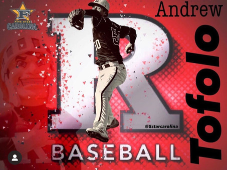 Andrew Tofolo signs to Rutgers University