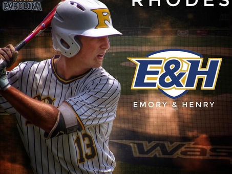 Congratulations to 5 Star Carolina 2021 Trenton Rhodes on his commitment to Emory & Henry