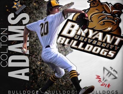 2022 Colton Adams commits to Bryant University