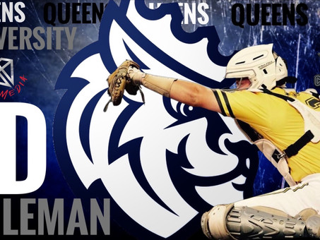 Congratulations to JD COleman on his recent Commitment to Queens University