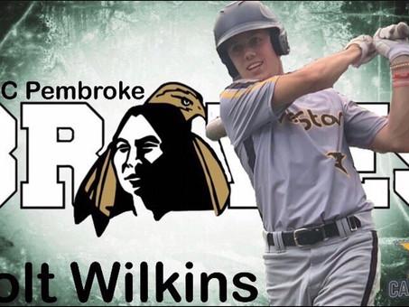 Colt Wilkins commits to UNC Pembroke
