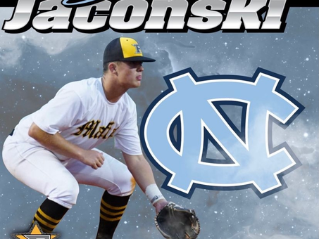 Congratulations to 5 Star Carolina National 2022 Jesse Jaconski on his commitment to UNC