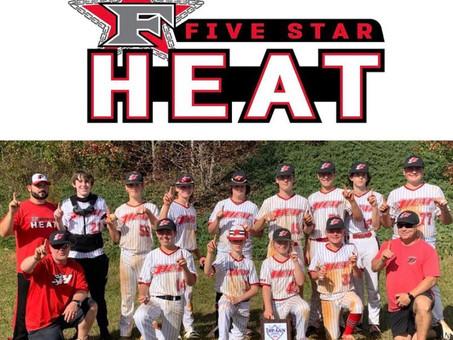 5 Star Heat 14U-Hamrick takes championship!