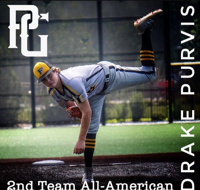 Congratulations to Drake Purvis 2nd Team All-American