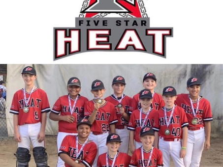 Tournament Champions - 5 Star Heat 11U-Hammer