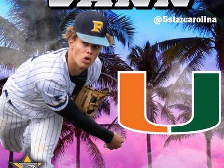 Shoutout to Domaine Vann of his commit to University of Miami!