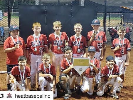 Tournament Champs!!! 5 Star Heat 10U-Nichols