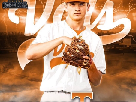 Congratulations to 5 Star Carolina National 2022 Hunter Sloop on his commitment to  Tennessee