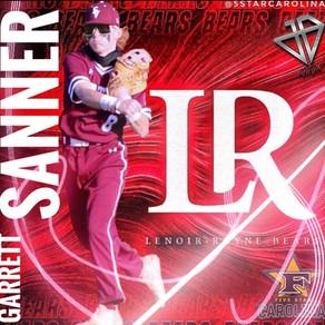 Congratulation's to Garrett Sanner on His recent commitment to Lenoir-Rhyne