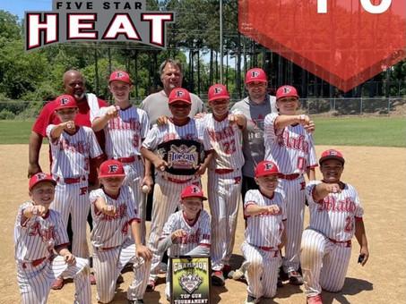 5 Star Heat 11u- Hammer takes home Top Gun Beast of the East Super NIT Win