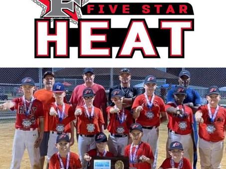 Tournament CHAMPS!!!! 5-Star Heat 10U-Patrick