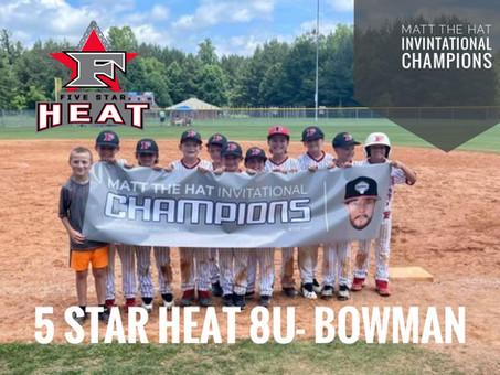 5 Star Heat 8u- Bowman