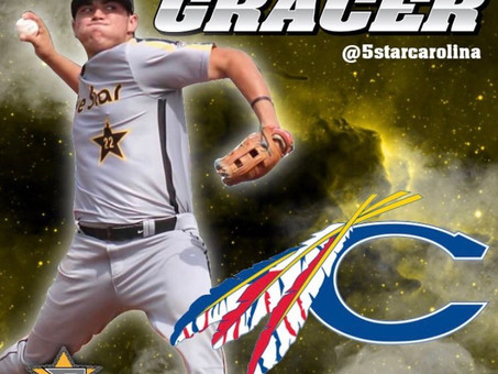 Congratulations to Michael Gracer on his commit to Catawba College