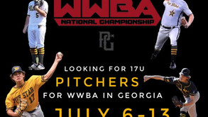 LOOKING FOR PITCHERS