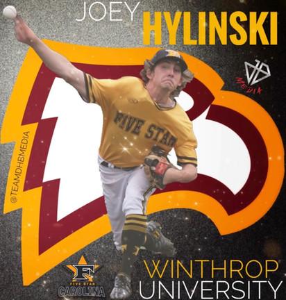 2022 Joey Hylinski Commits to Winthrop University