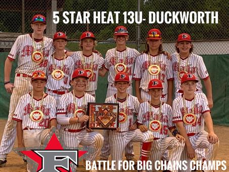 5 Star Heat 13u- Duckworth