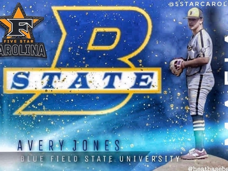 Congratulations to 5 Star Carolina 2021 Avery Jones on his commitment to Bluefield State