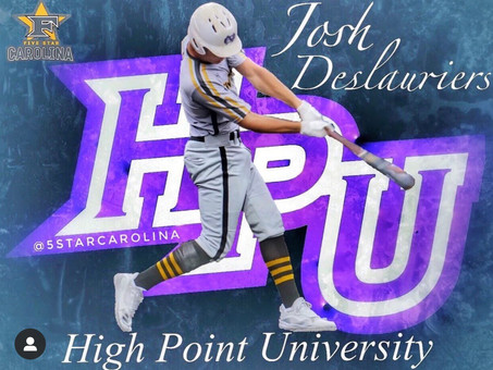 Josh Deslauriers signs to High Point University