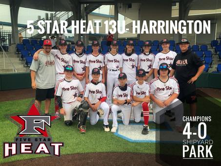5 Star Heat 13u- Harrington Shipyard Champions