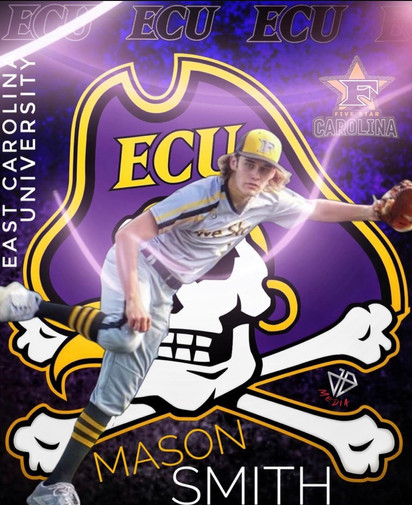 Mason Smith 2022 Grad East Carolina University