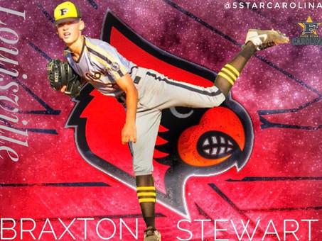 Braxton Stewart commits to the University of Louisville!