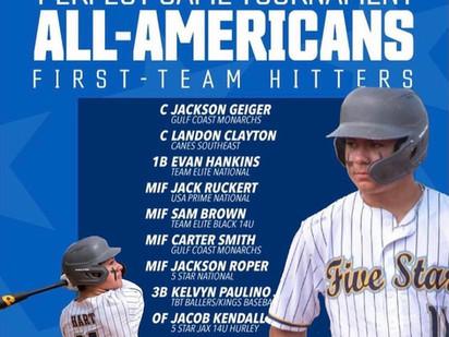 13u First Team All-American Kaden Hart