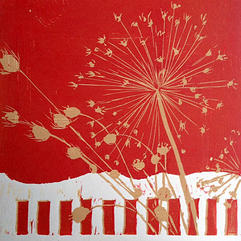 SOLD Seed Heads by Anna Hughes