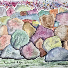 Brentwood Rocks by Constance Turner