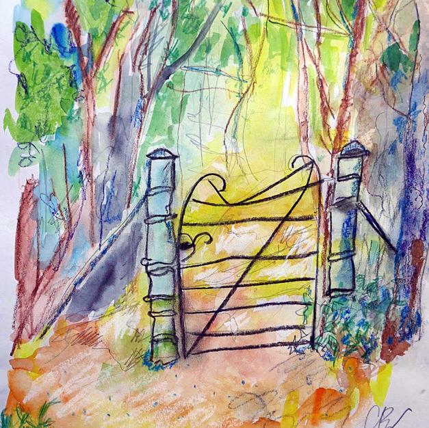 Thorndon Gate by Christine Baker,