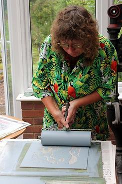 Brentwood Art Society - Printmaking - Sy
